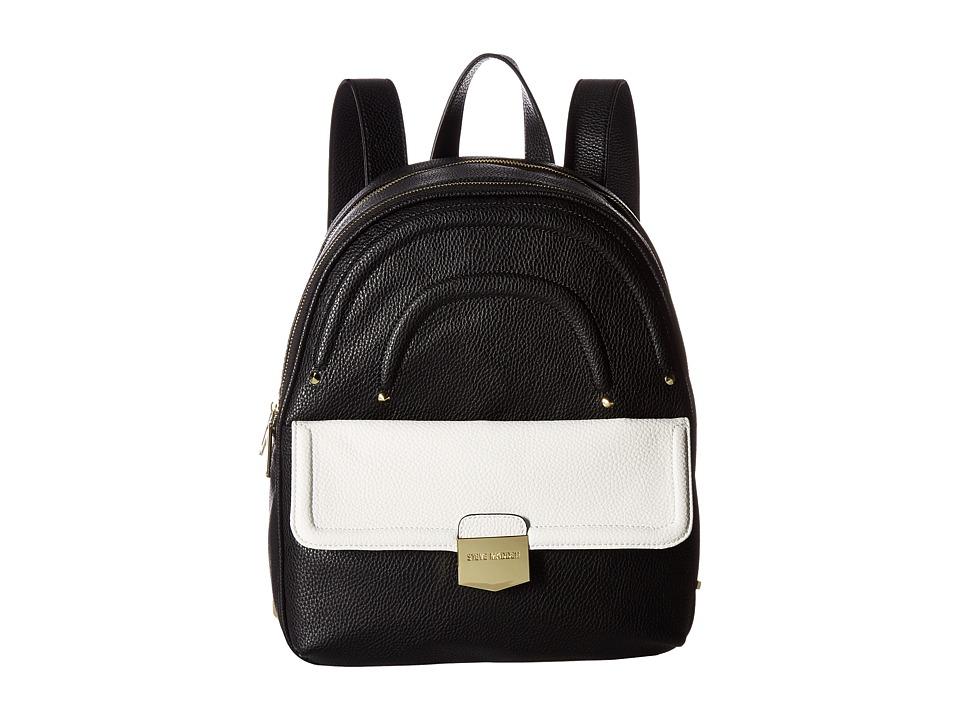 Steve Madden - Bariel Backpack (Black/White) Backpack Bags