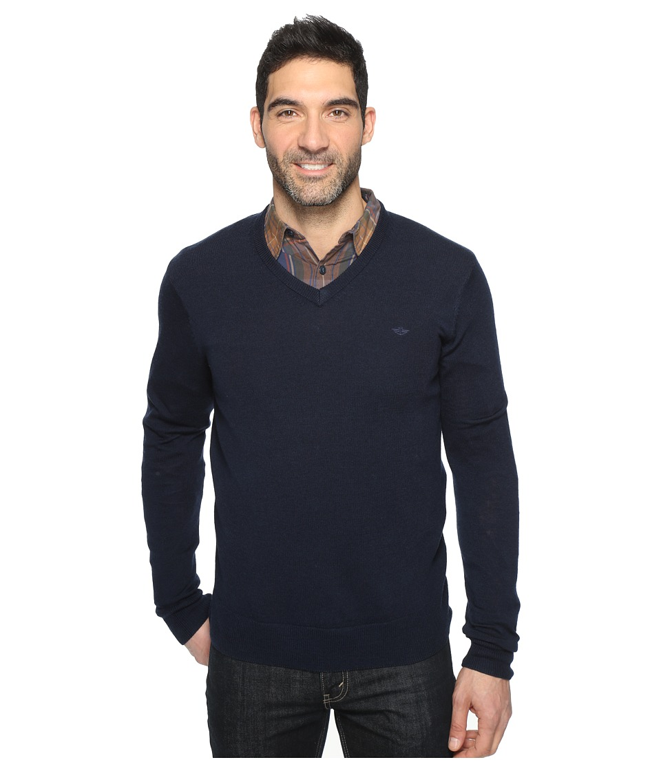 Dockers Premium Merino V-Neck (Pembroke) Men