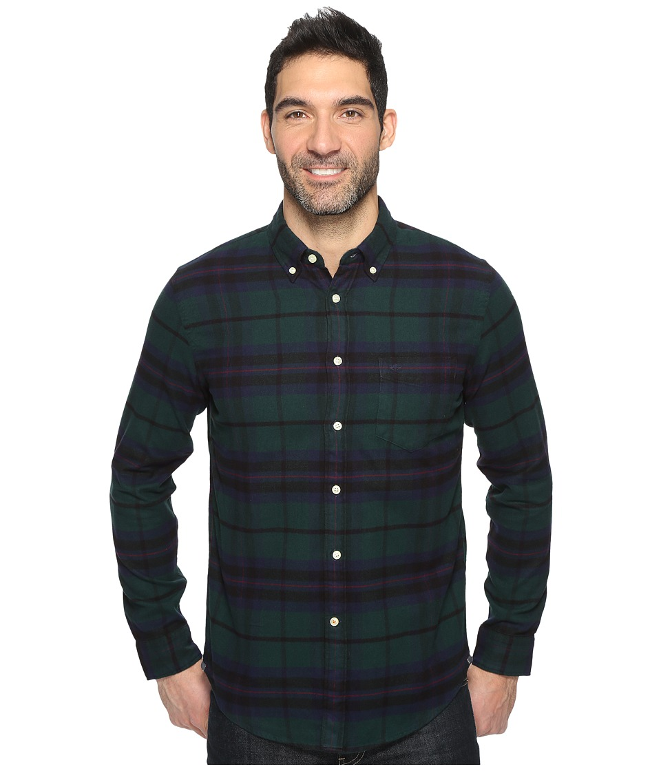 Dockers Premium - Portuguese Flannel Shirt (Pembroke Plaid) Men's Clothing