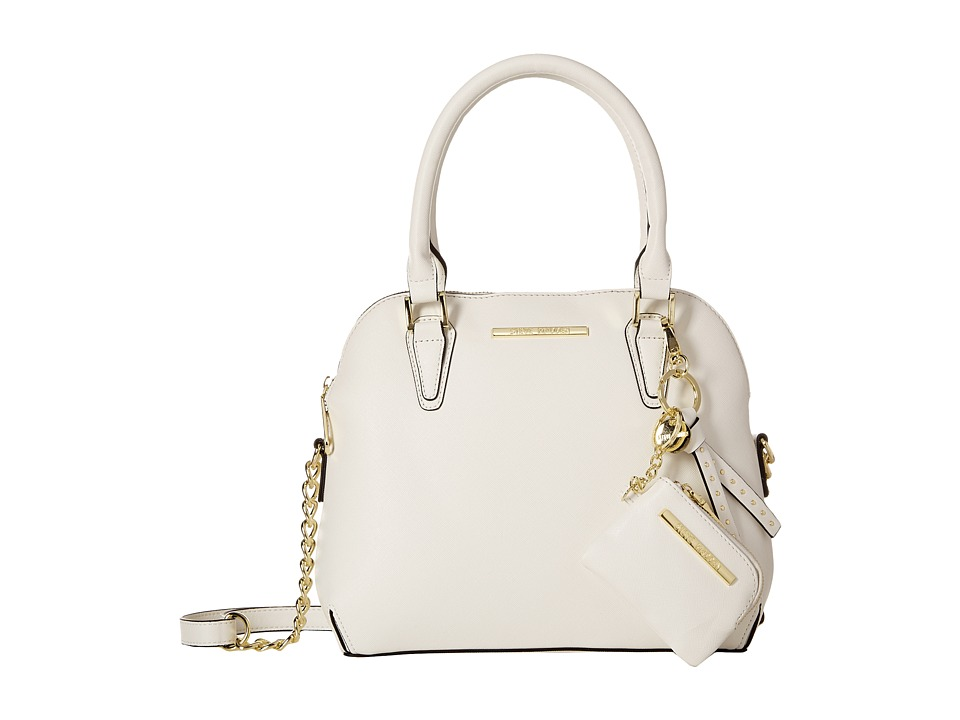 Steve Madden - BHelena Dome Satchel (White) Satchel Handbags