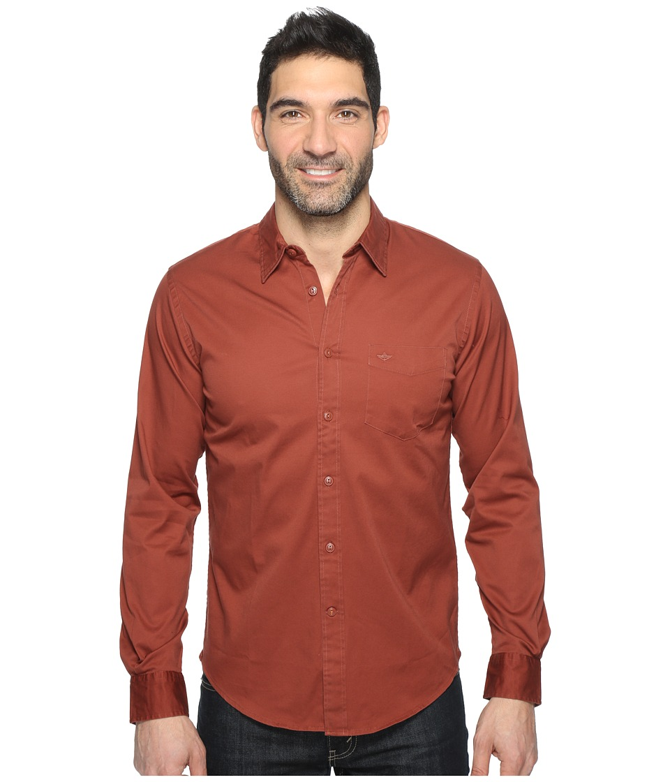 Dockers Premium - Broken-In Shirt (Henna) Men's Clothing