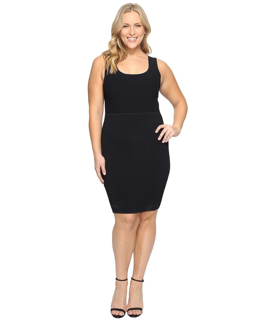 Tart - Plus Size Beri Dress (Black) Women's Dress