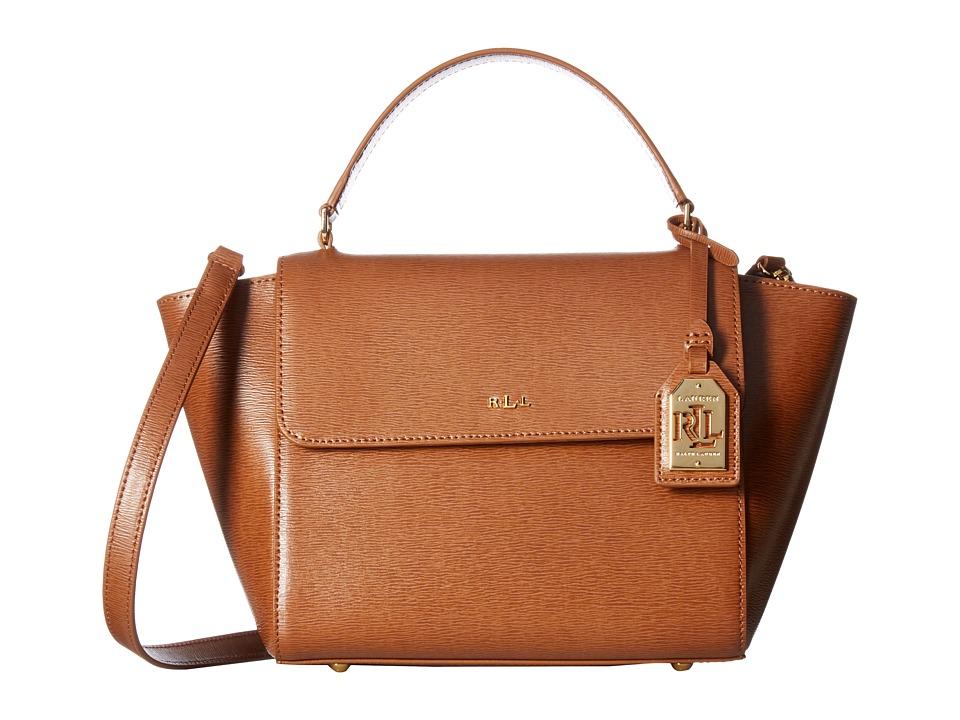 LAUREN Ralph Lauren - Newbury Barclay Crossbody (Lauren Tan) Cross Body Handbags