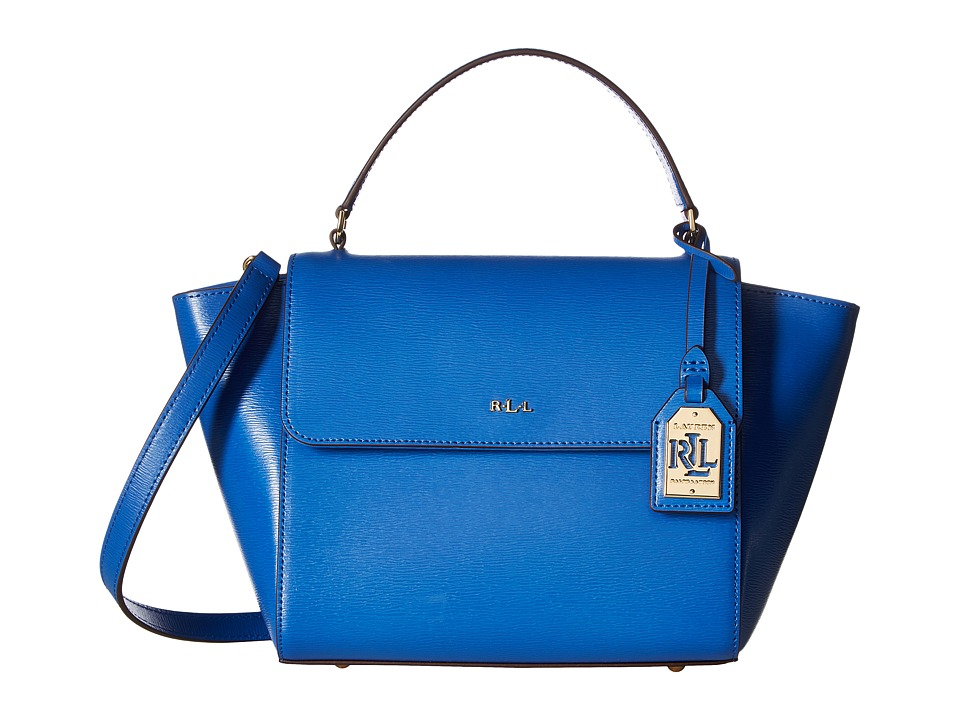 LAUREN Ralph Lauren - Newbury Barclay Crossbody (Snorkel Blue) Cross Body Handbags
