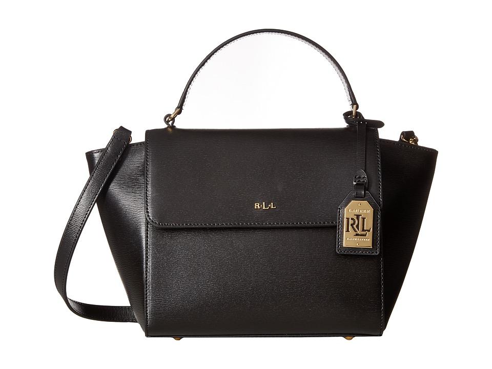 LAUREN Ralph Lauren - Newbury Barclay Crossbody (Black) Cross Body Handbags