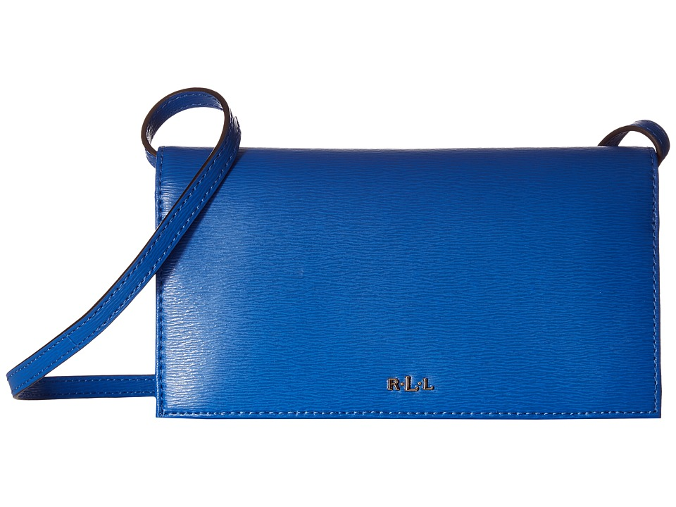 LAUREN Ralph Lauren - Newbury Kaelyn Crossbody (Snorkel Blue) Cross Body Handbags