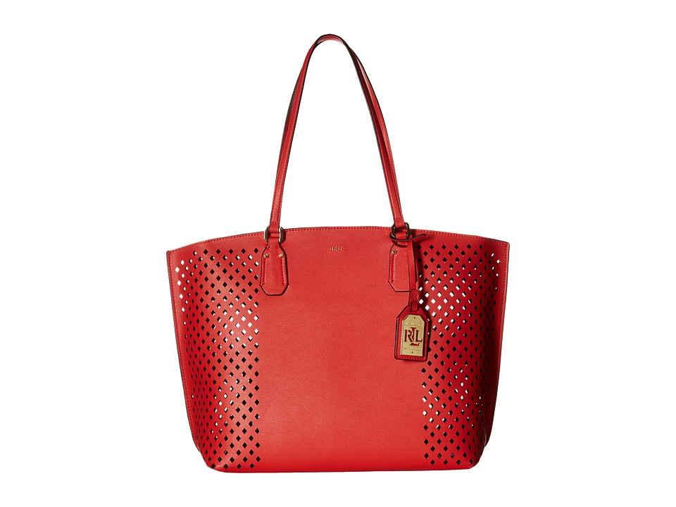 LAUREN Ralph Lauren - Lauderdale Tanner Tote (Cayenne) Tote Handbags