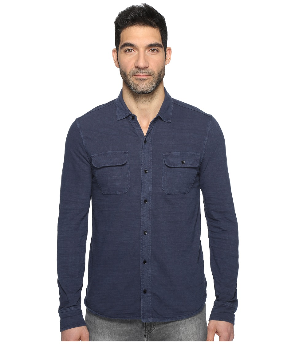 Lucky Brand - Jersey Work Shirt (Night Sky) Men's Clothing