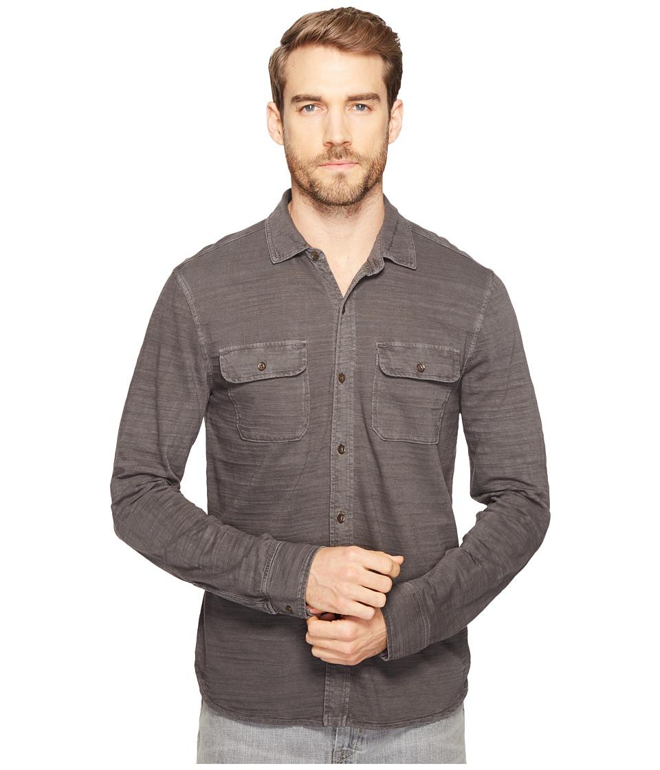 Lucky Brand - Jersey Work Shirt (Raven) Men's Clothing