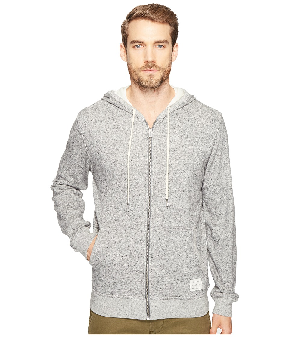 Lucky Brand - Lined Hoodie (Grey Heather) Men's Sweatshirt