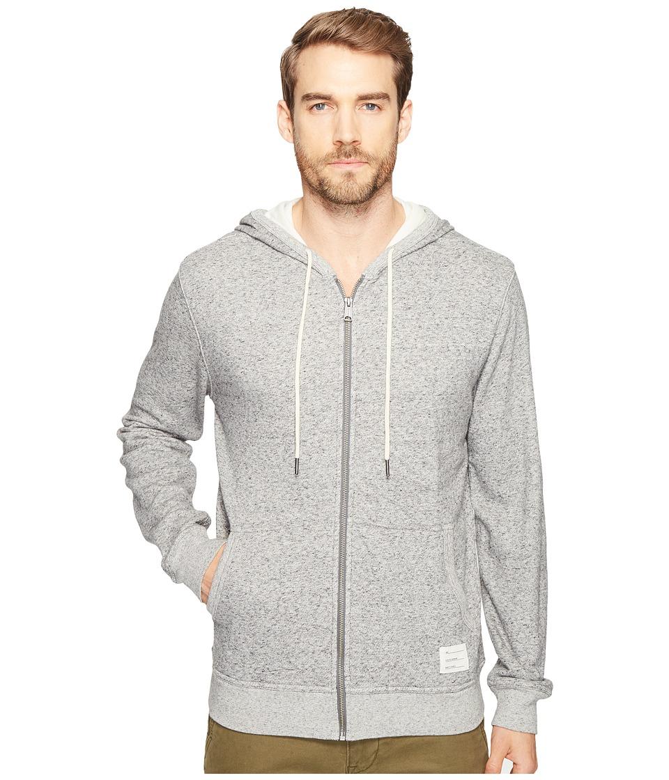 Lucky Brand - Lined Hoodie (Grey Heather) Men's Sweatshirt