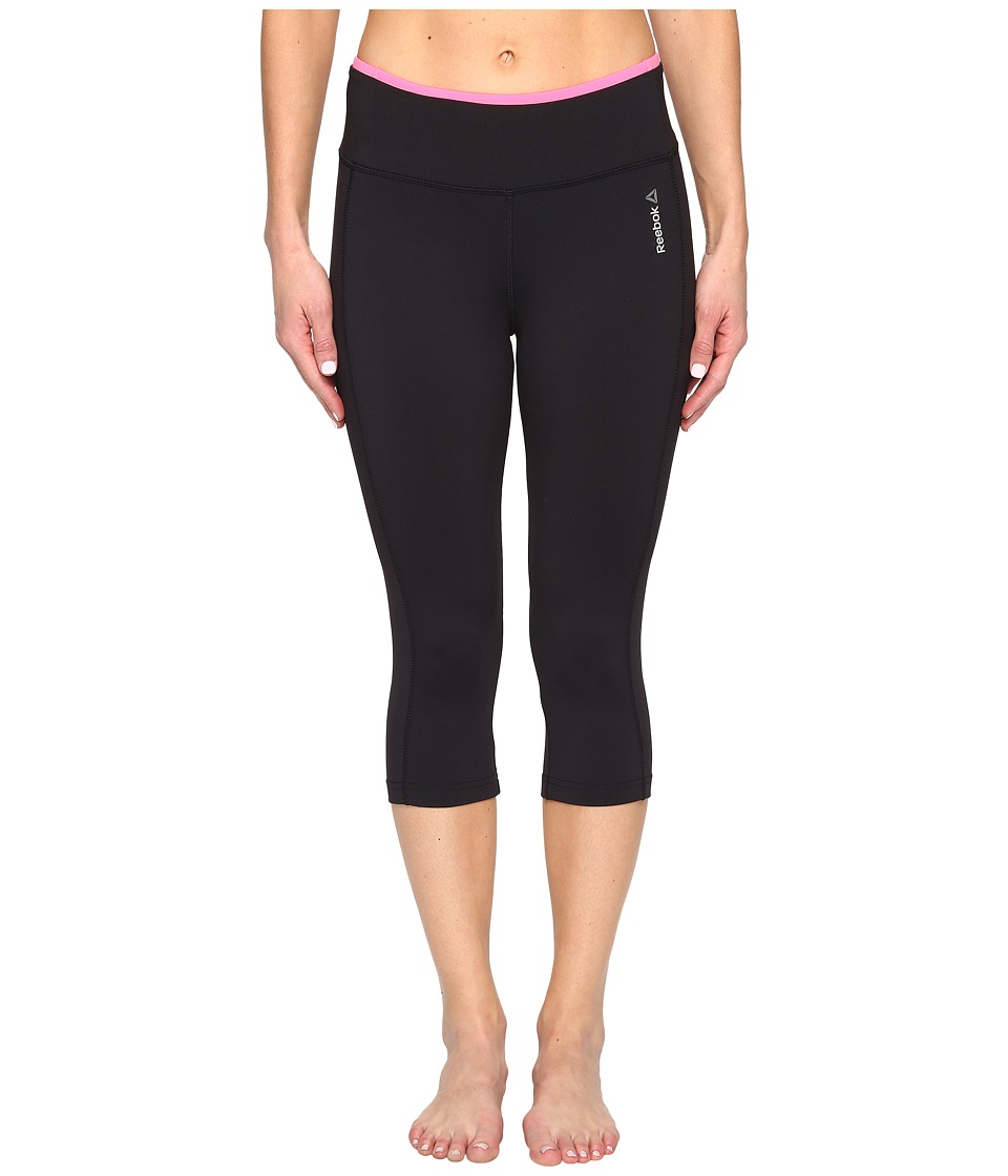 Reebok - Workout Ready Capri Pants (Black) Women's Capri