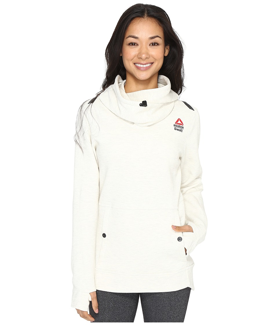 Reebok - CrossFit Games Hoodie (White) Women's Sweatshirt