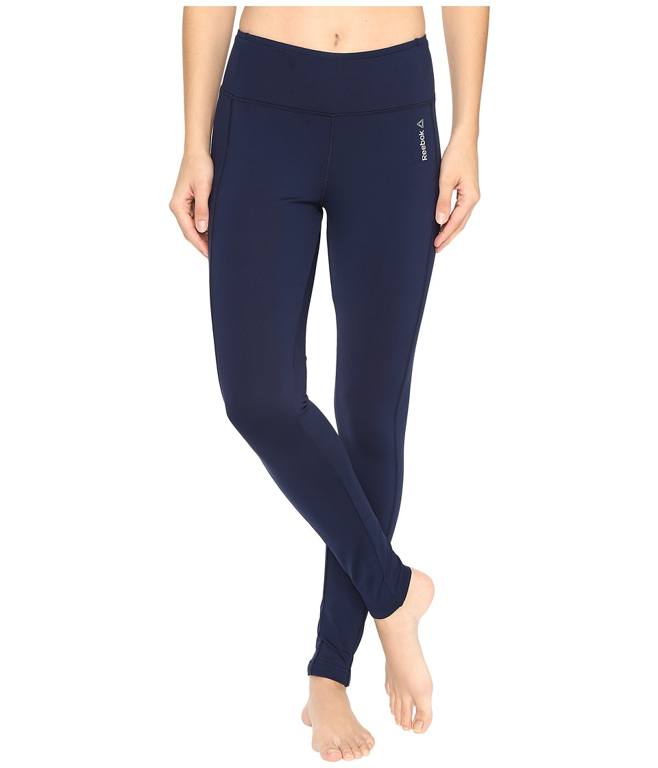Reebok - Workout Ready Tights (Navy) Women's Clothing