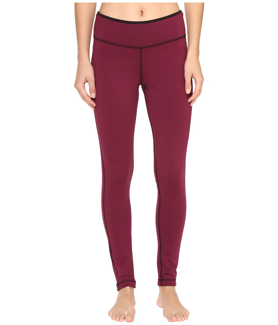 Reebok - Workout Ready Reversible Tights (Maroon) Women's Workout