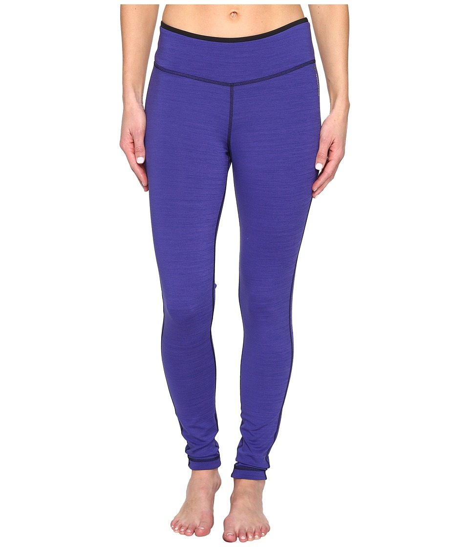 Reebok - Workout Ready Reversible Tights (Purple) Women's Workout