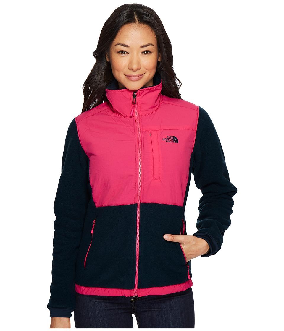 The North Face Denali 2 Jacket (Ink Blue/Petticoat Pink) Women