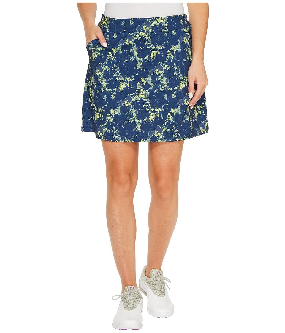 PUMA Golf Bloom Knit Skirt (Peacoat) Women