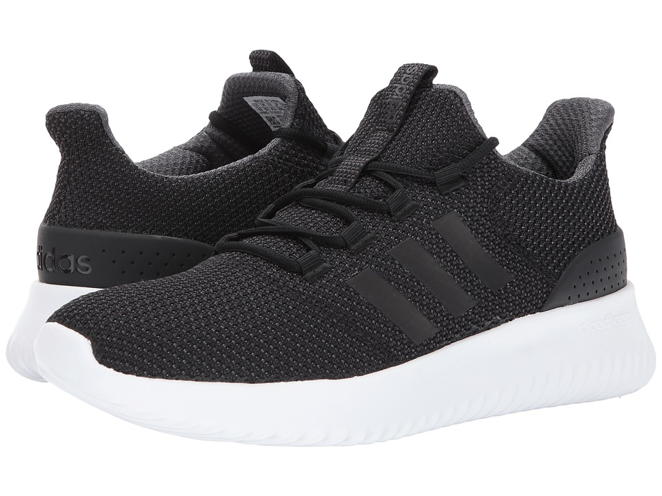 adidas - Cloudfoam Ultimate (Core Black/Core Black/Utility Black 2) Men's Running Shoes