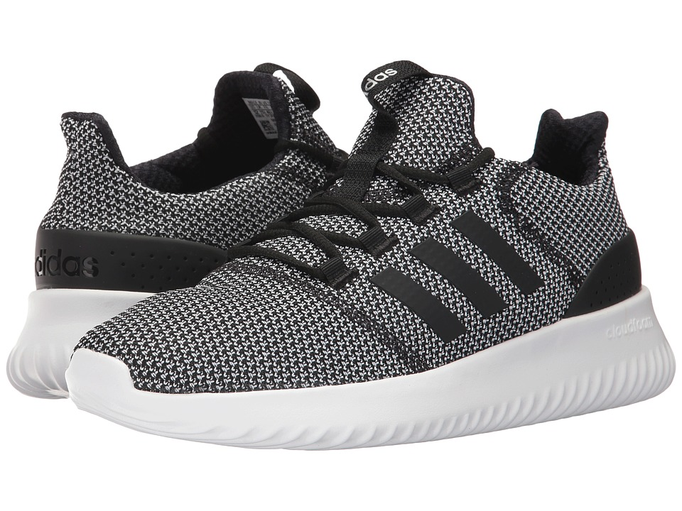 adidas - Cloudfoam Ultimate (Core Black/Core Black/Footwear White) Men's Running Shoes