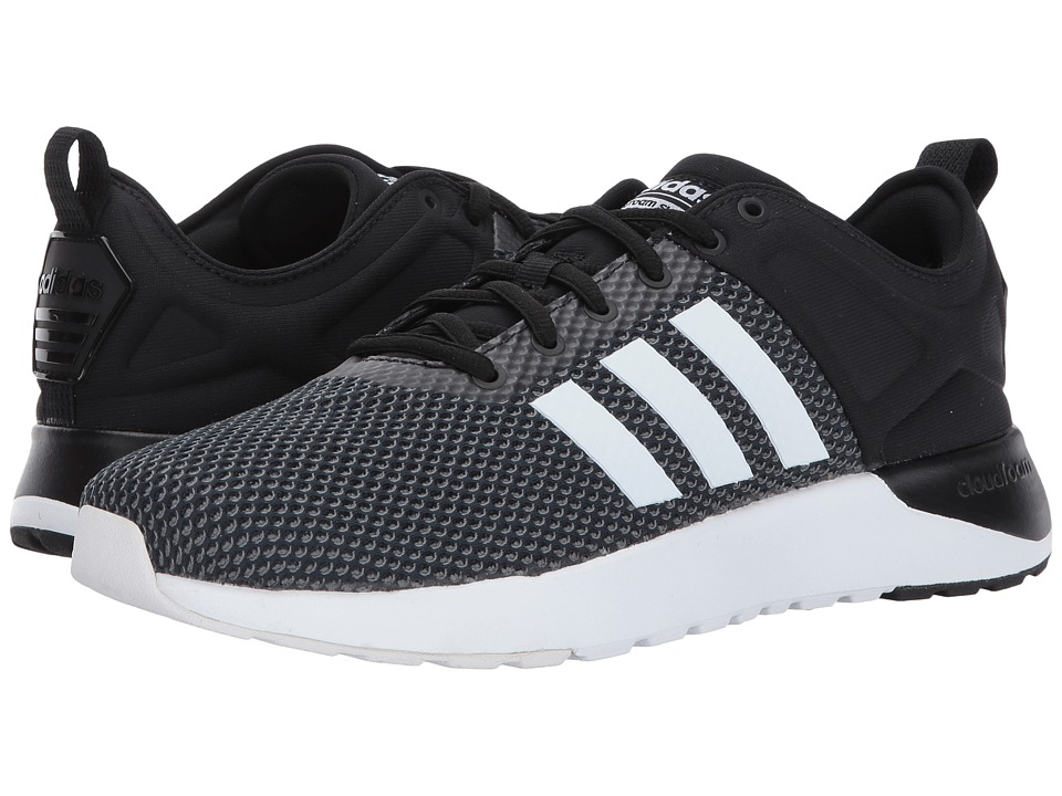 adidas - Cloudfoam Super Racer (Core Black/Footwear White/Grey Five) Men's Running Shoes