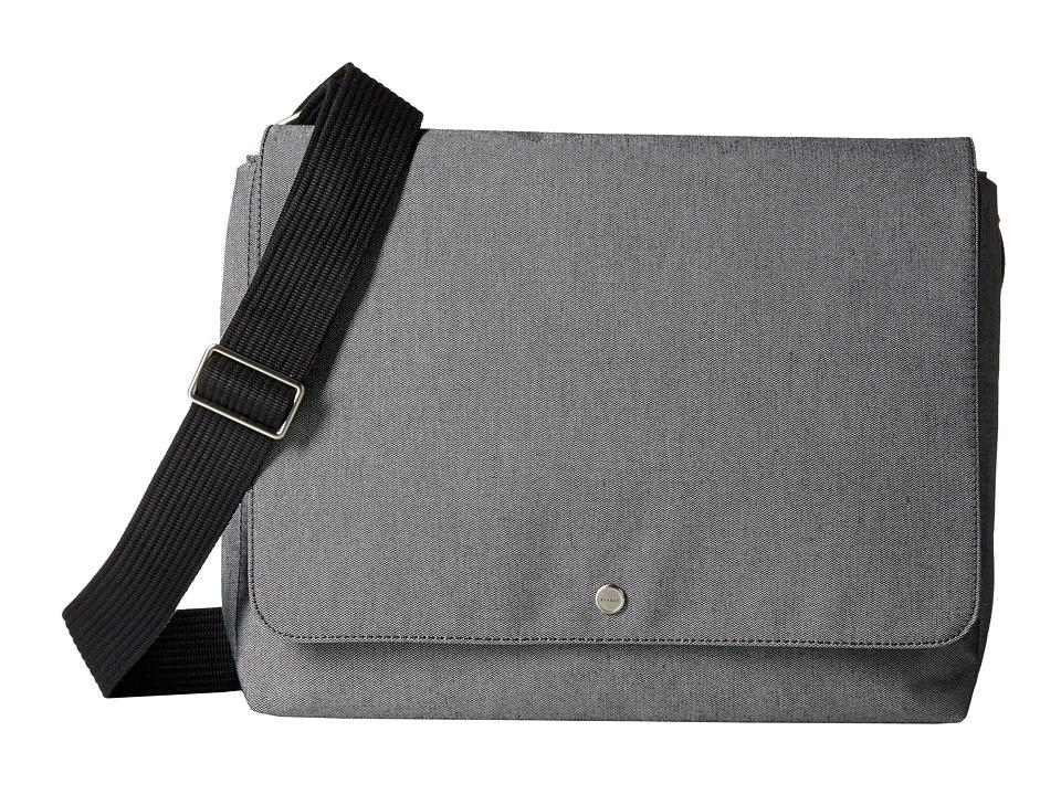 Skagen - Eric Messenger (Gray) Messenger Bags