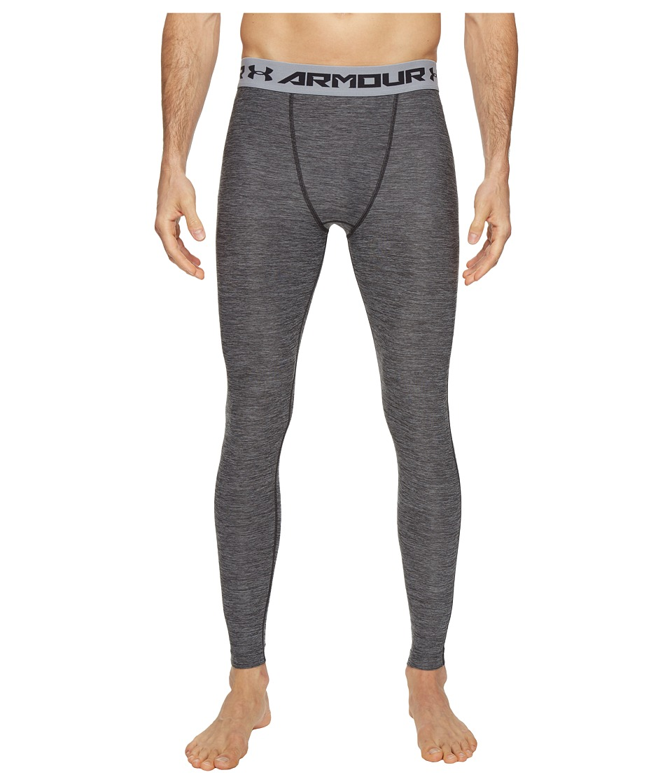 Under Armour - Heatgear Armour Twist Comp Leggings (Black) Men's Casual Pants