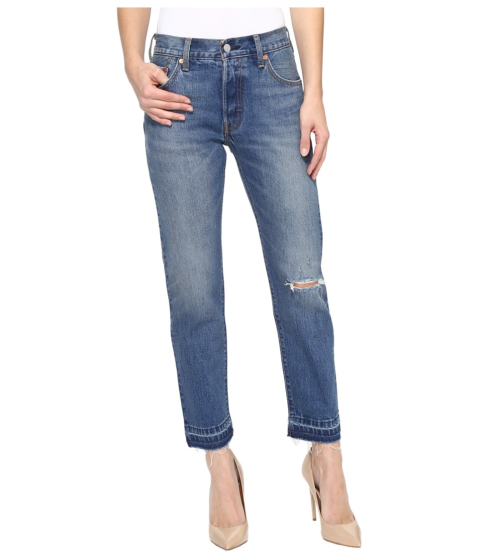 Levi's(r) Womens - Premium 501 Jeans (Wear and Tear) Women's Jeans