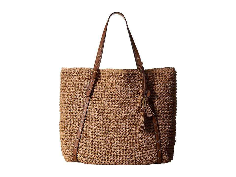 LAUREN Ralph Lauren - Goswell Hayden Tote (Natural) Tote Handbags