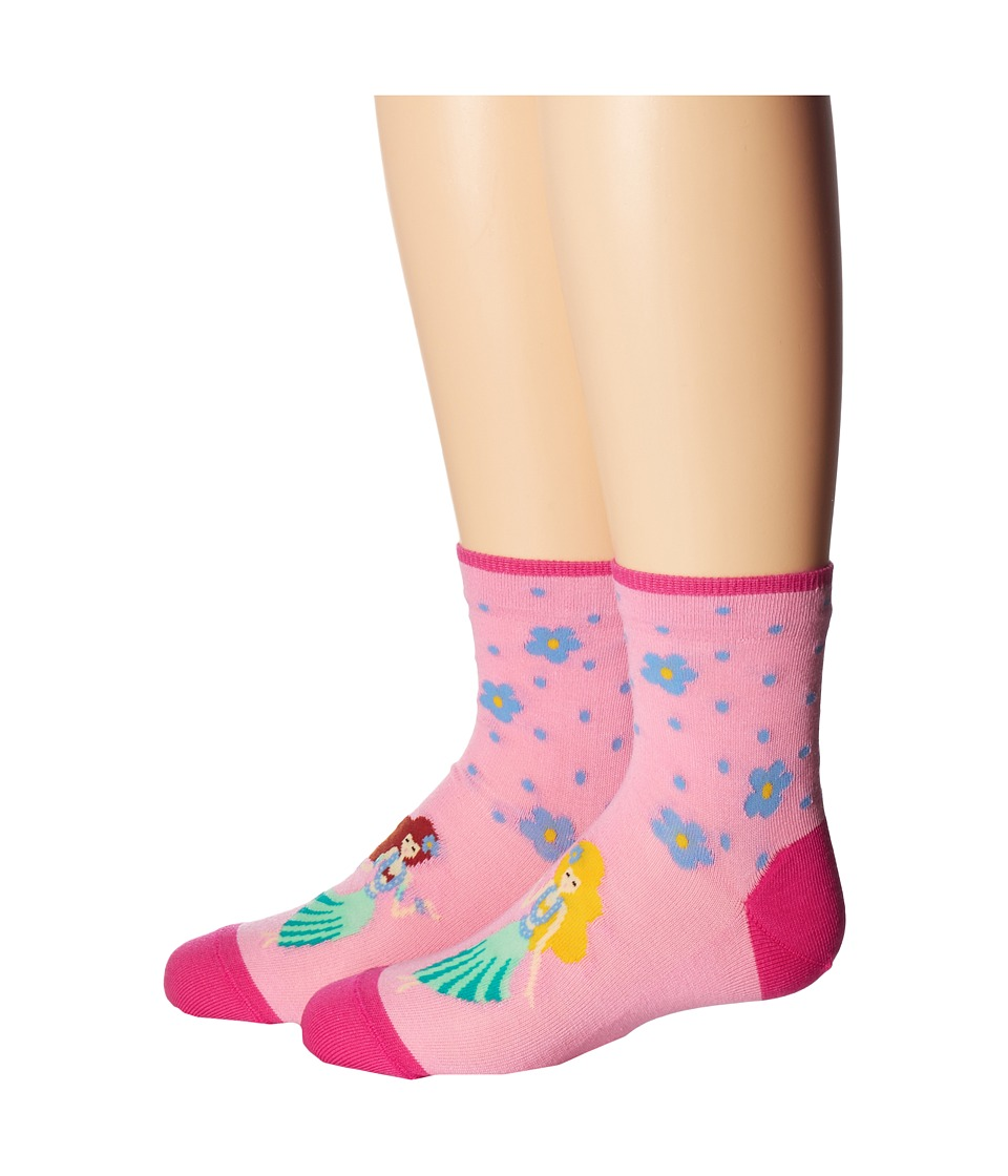 Falke - Hula Short Sock (Toddler/Little Kid/Big Kid) (Flamingo) Women's Low Cut Socks Shoes
