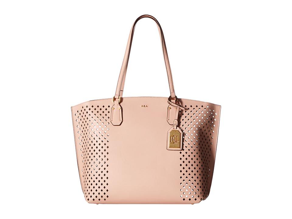 LAUREN Ralph Lauren - Lauderdale Tanner Tote (Blush) Tote Handbags