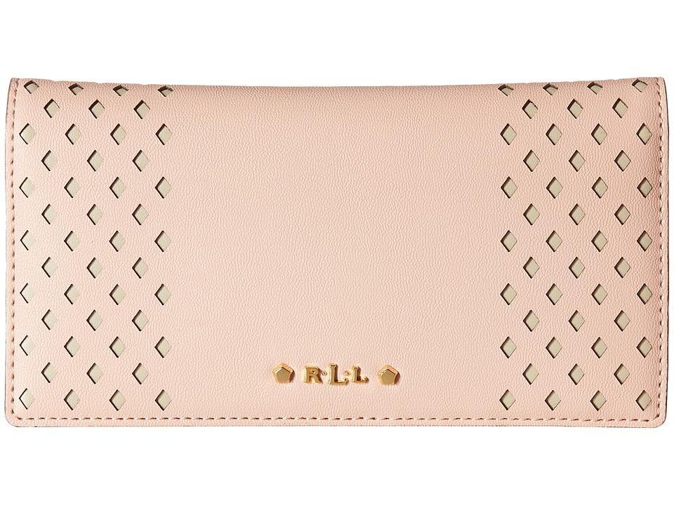 LAUREN Ralph Lauren - Lauderdale Slim Wallet (Blush) Wallet Handbags
