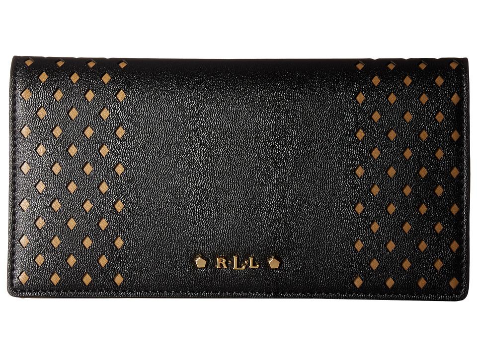 LAUREN Ralph Lauren - Lauderdale Slim Wallet (Black) Wallet Handbags