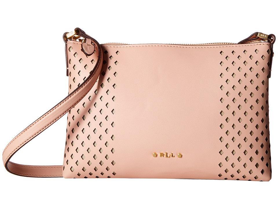 LAUREN Ralph Lauren - Lauderdale Tasmine Crossbody (Blush) Cross Body Handbags