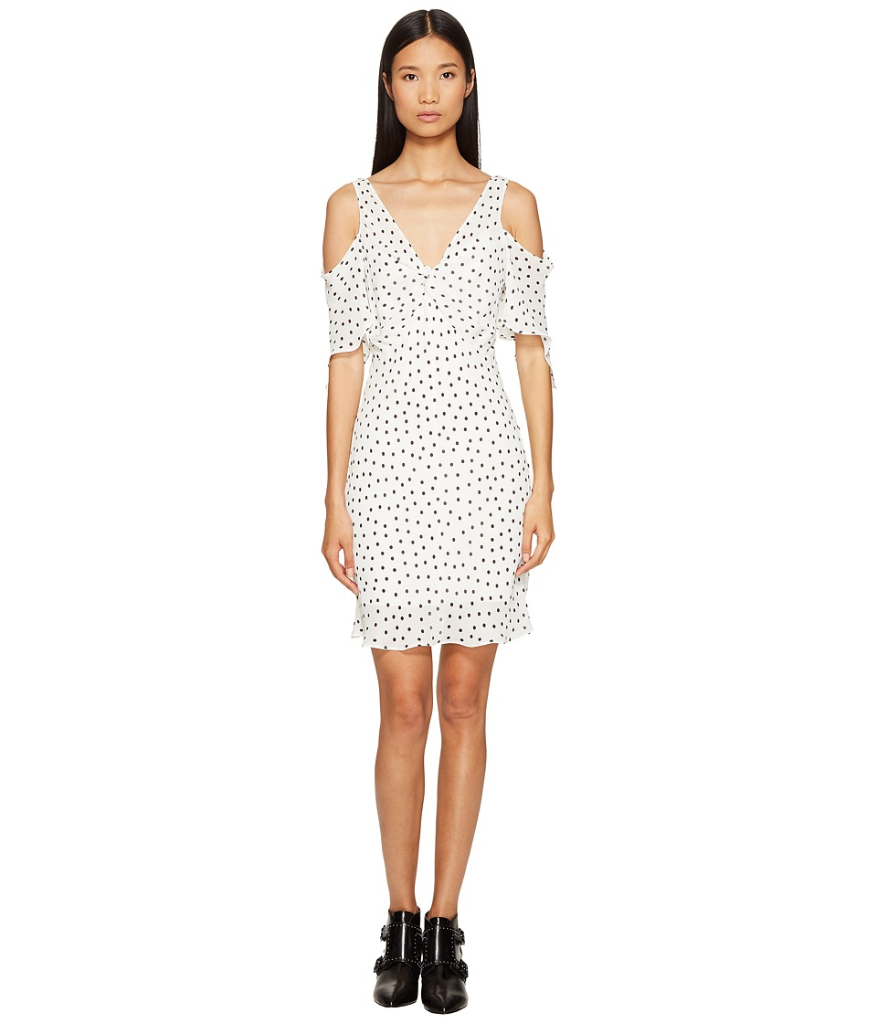 McQ - Dropped Shoulder Dress (Ivory) Women's Dress