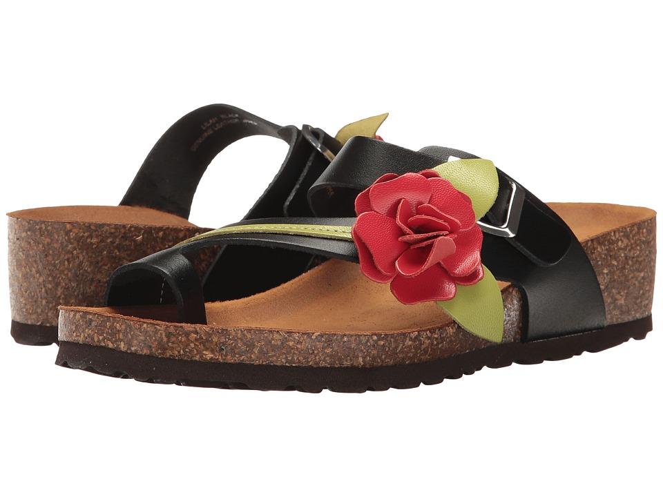 Spring Step - Lilah (Black) Women's Shoes