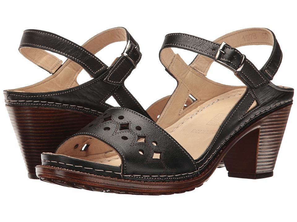Spring Step - Laney (Black) Women's Shoes