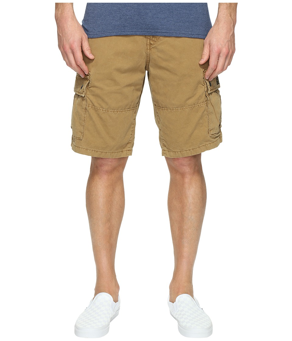 Lucky Brand Core Cargo Shorts (Pale Ale) Men