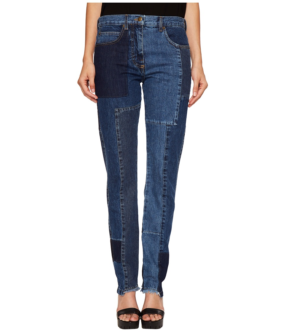 McQ - Patched Patti Jeans (Indigo) Women's Jeans