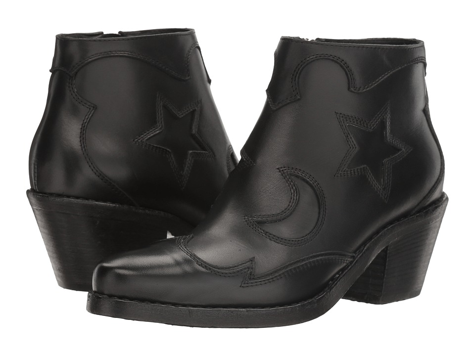 McQ - Solstice Zip Boot (Black) Women's Boots