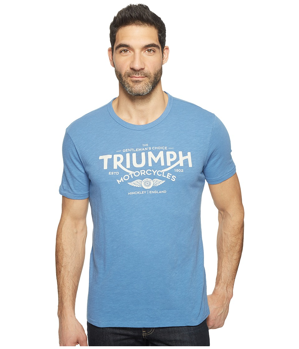 Lucky Brand - Triumph Choice Graphic Tee (Federal Blue Slub) Men's T Shirt
