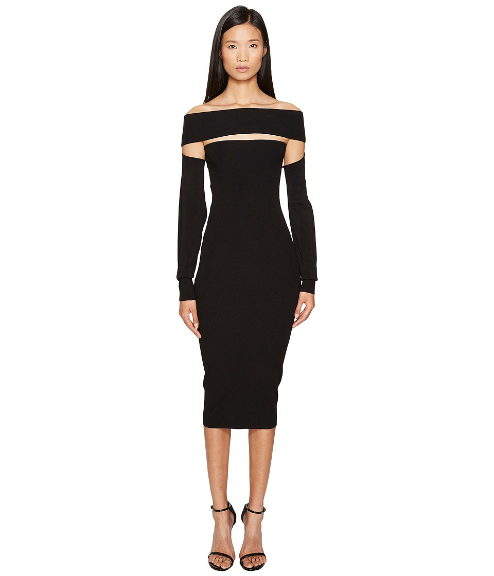 McQ - Bandeau Dress (Darkest Black) Women's Dress