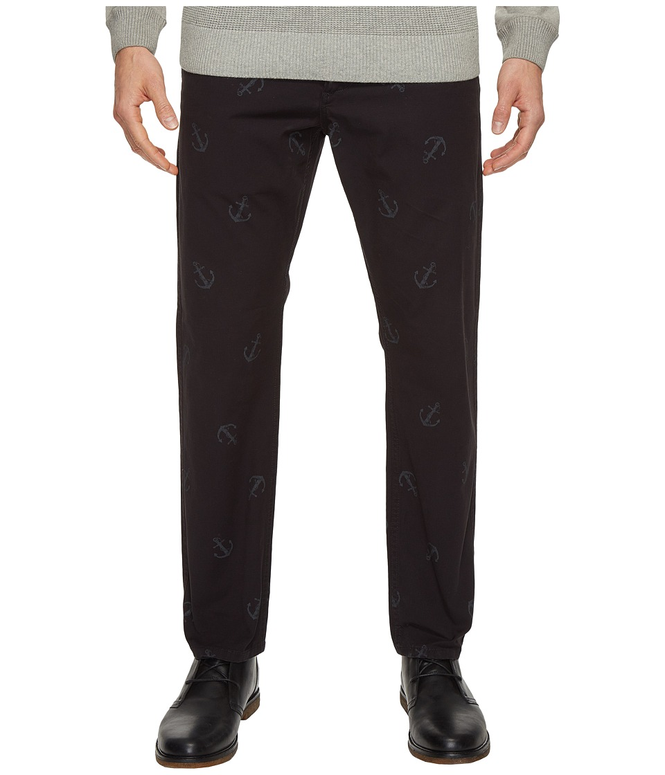 Dockers Premium - Anchor Broken in Chino Slim Tapered (Black) Men's Casual Pants