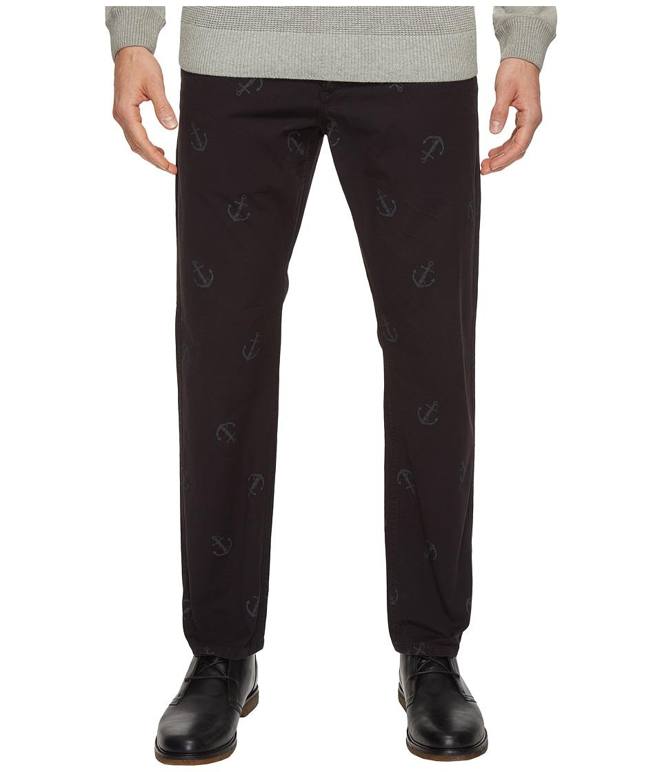 Dockers Premium - Anchor Broken in Chino Slim Tapered (Black) Men's Casual Pants