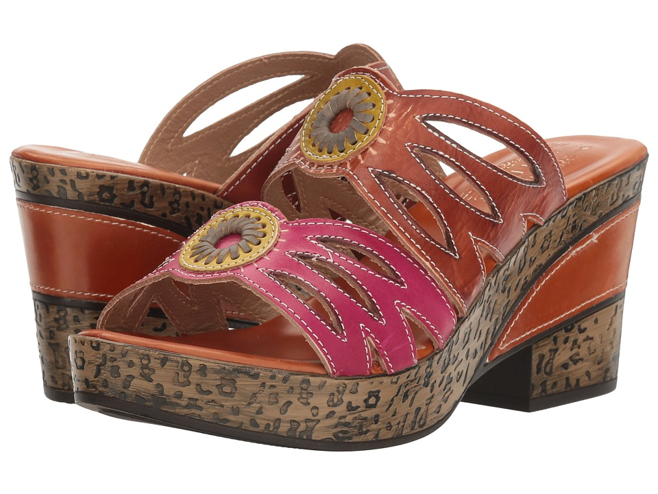 L'Artiste by Spring Step - Beverly (Camel) Women's Shoes