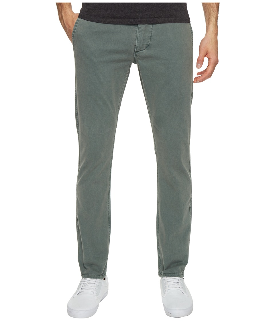 Dockers Premium - Broken in Chino Skinny Mist Wash (Dark Forest) Men's Casual Pants