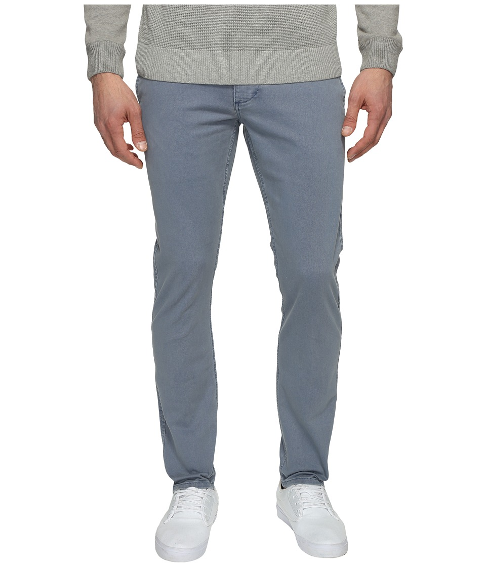 Dockers Premium - Broken in Chino Skinny Mist Wash (Smokey Aqua) Men's Casual Pants