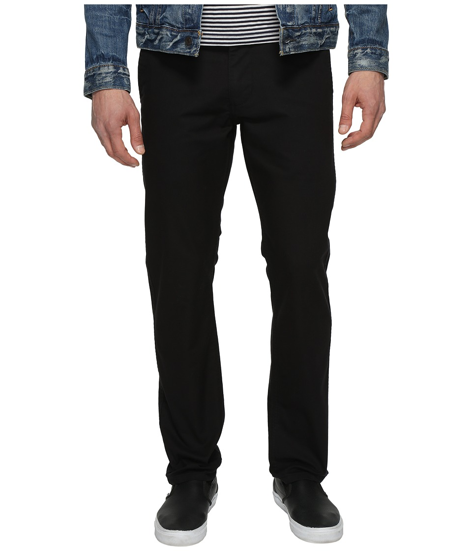 Dockers Premium - Broken in Chino Slim Tapered (Black) Men's Casual Pants