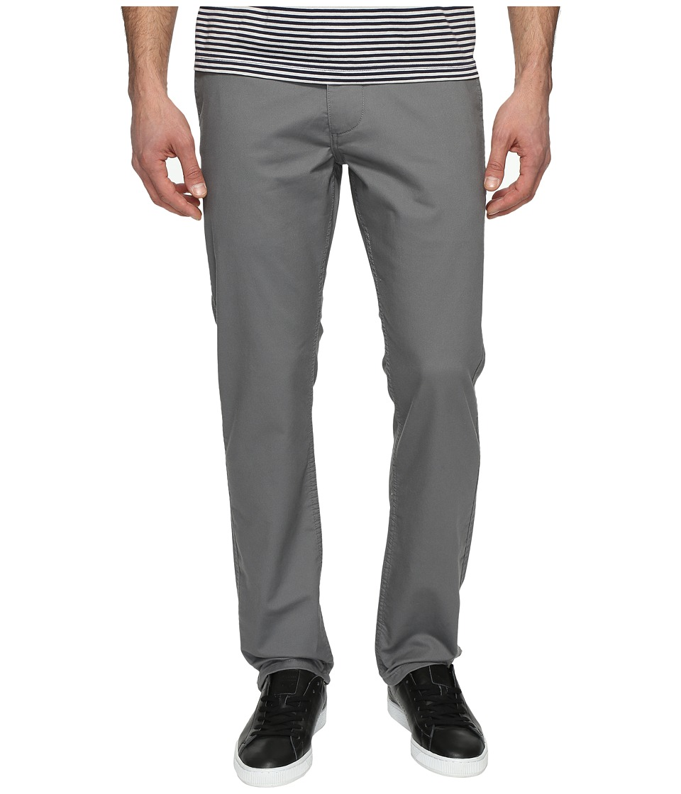 Dockers Premium - Broken in Chino Slim Tapered (Burma Grey) Men's Casual Pants