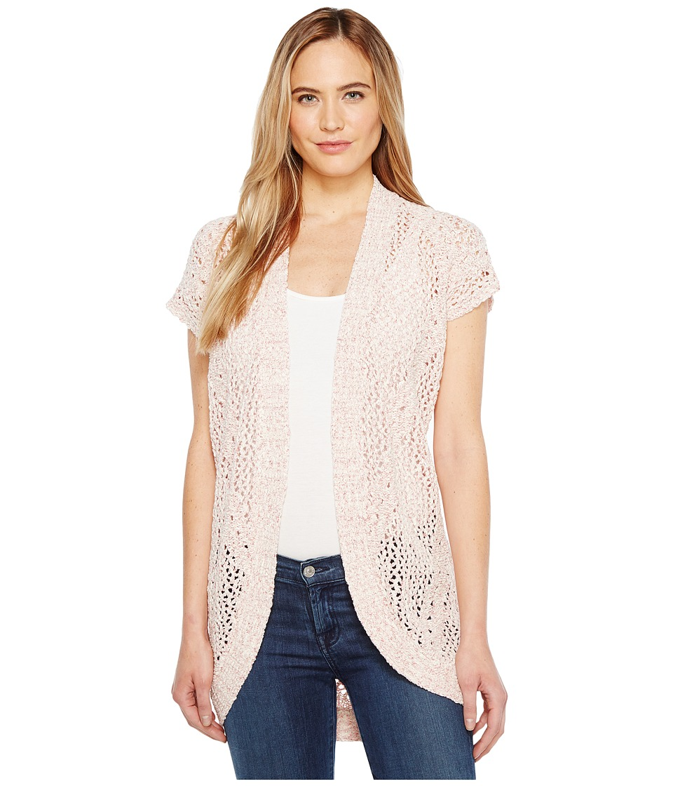 B Collection by Bobeau - Ysabel Dolman Sleeve Cardigan (Coral Mix) Women's Sweater